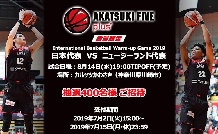 International Basketball Warm-up Game 2019